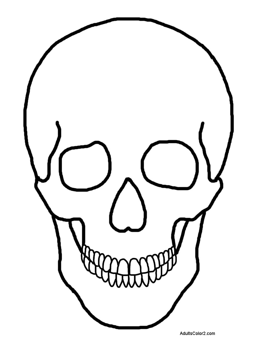 1016x1375 Human Head Coloring Pages