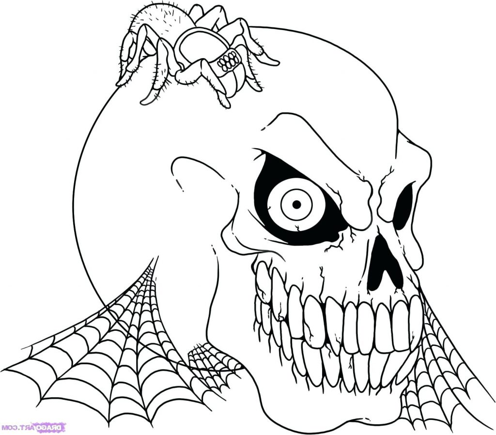 1024x898 Coloring Pages Skeleton Coloring Page Pages Head Skeleton