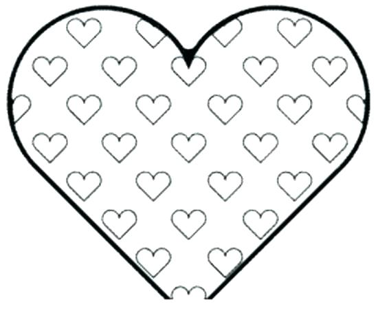 550x481 Heart Coloring Pages To Print Plus Human Heart Coloring Page Heart