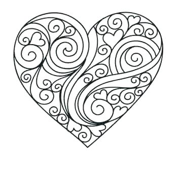361x345 Heart Coloring Pages Coloring Page Of A Heart Human Heart