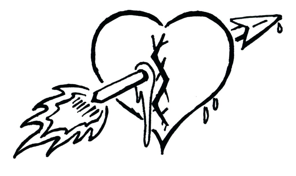 1024x609 Broken Heart Coloring Pages Heart Coloring Page Heart Design