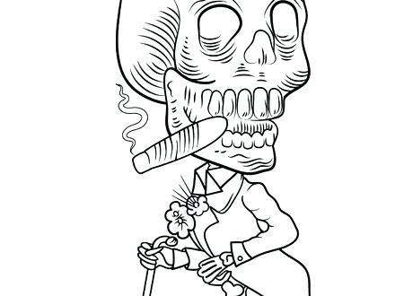 440x330 Human Skeleton Coloring Pages Skeleton Coloring Pages Human
