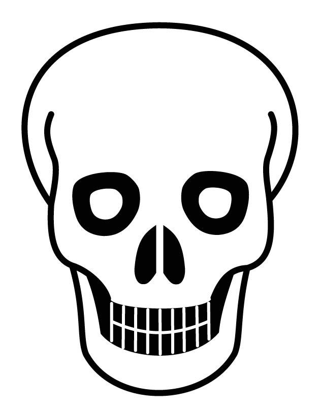 630x810 Human Skull Coloring Pages Download Free Human Skull Coloring