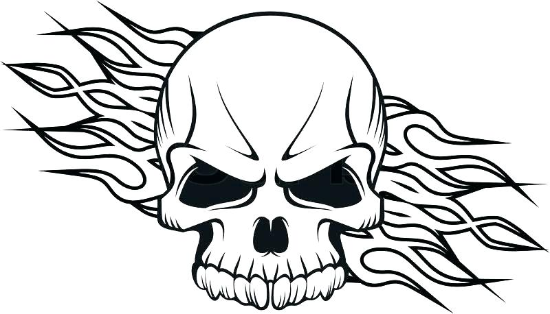 800x458 Flaming Skull Coloring Pages Coloring Pages Skulls Skull Coloring