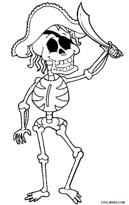 441x700 Skeleton Coloring Pages Printable Vanda