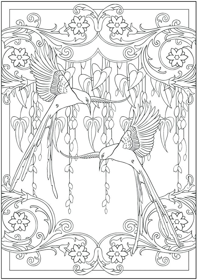 650x917 Free Coloring Pages For Adults Mama Bees Freebies Hummingbird