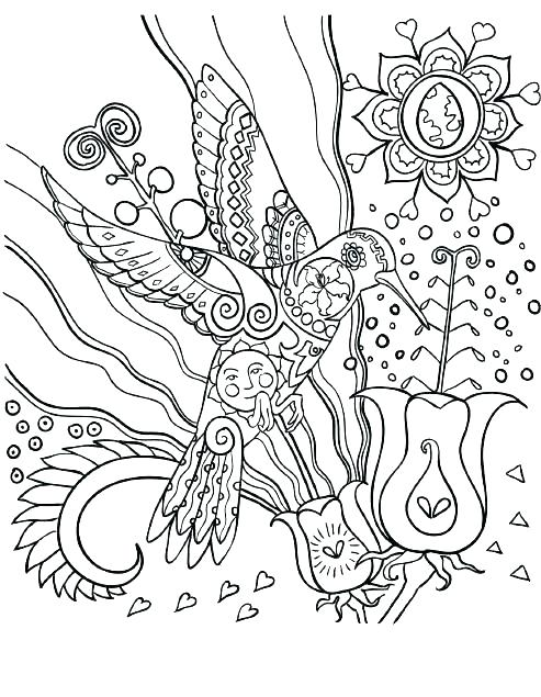 493x635 Coloring Pages Of Hummingbirds Hummingbird Coloring Pictures