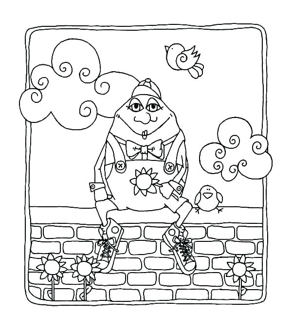 The Best Free Humpty Coloring Page Images Download From 46 Free