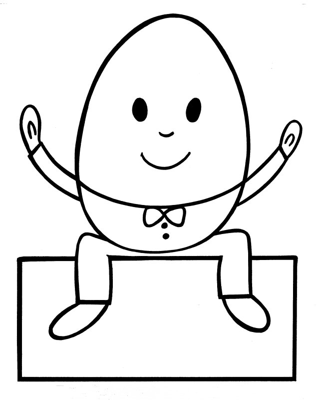 Humpty Dumpty Coloring Page At Getdrawings Com Free For Personal
