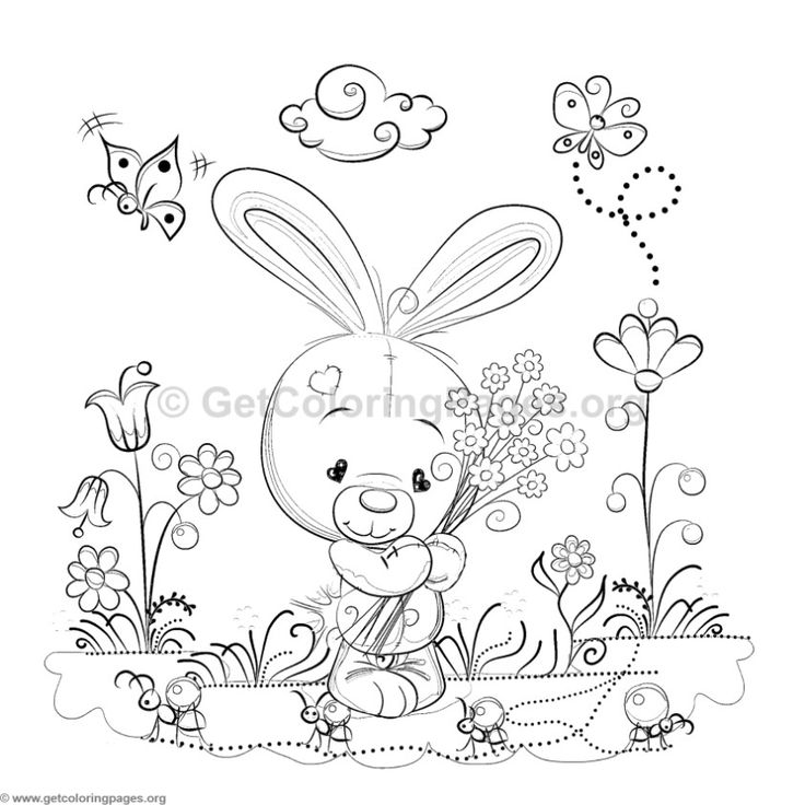 736x736 Best Cute Animals Coloring Pages Images