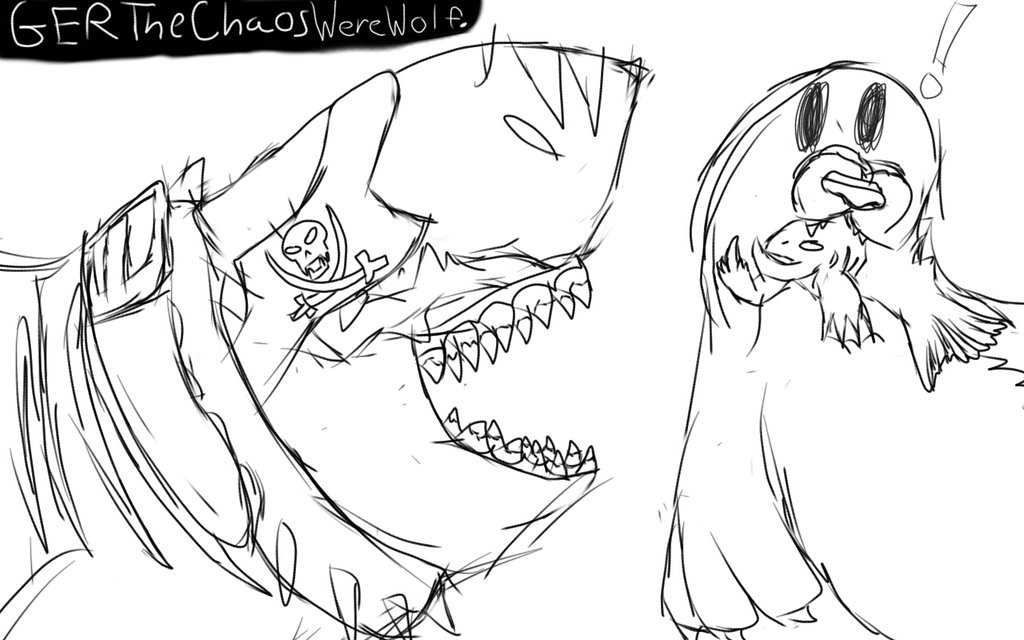 1024x640 Shark Evolution Coloring Pages