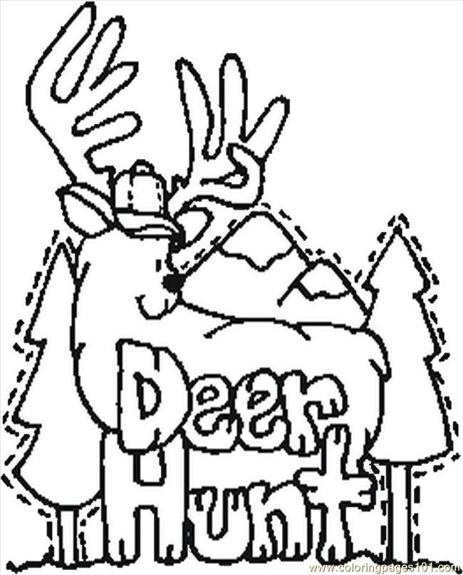 650x806 Hunting Coloring Pages New Deer Hunting Coloring Pages Coloring
