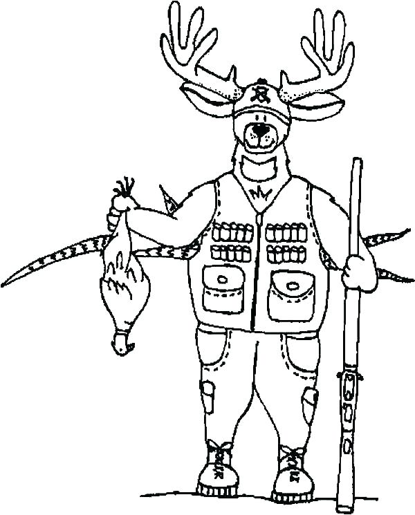 600x745 Hunting Dog Coloring Pages