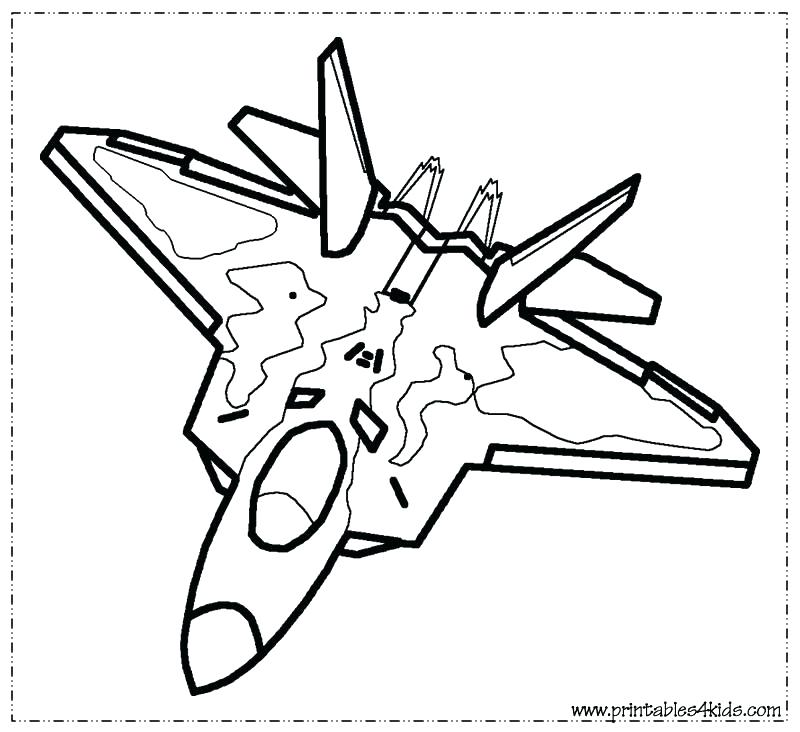 800x732 Jet Ski Printable Coloring Pages Jets Plane Page Hurricane
