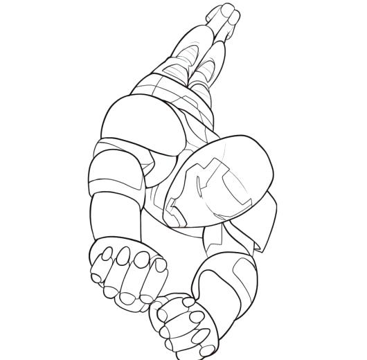 530x520 Iron Patriot Coloring Pages Amazing Iron Man Coloring Page