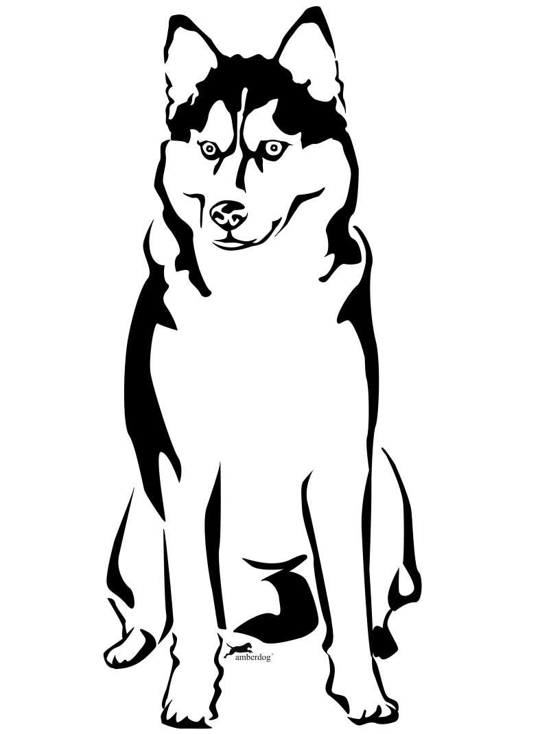 803x1071 Husky Puppy Coloring Pages Cute Printable Unusual