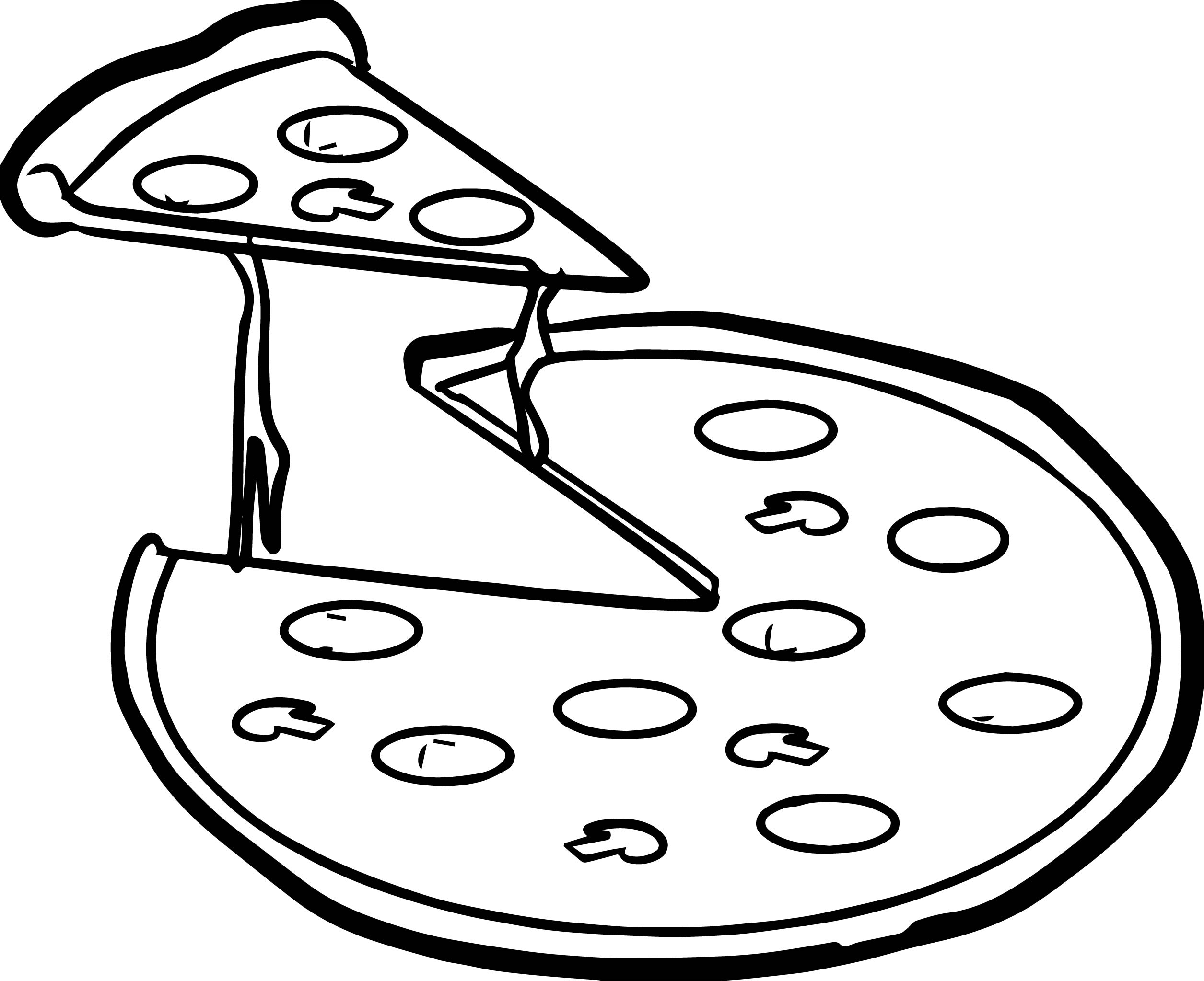 2511x2047 Pizza Hut Coloring Pages