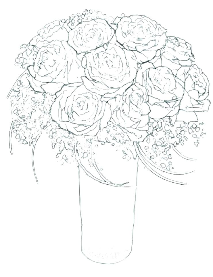 741x960 Free Printable Coloring Pages Flowers Coloring Pages Flowers