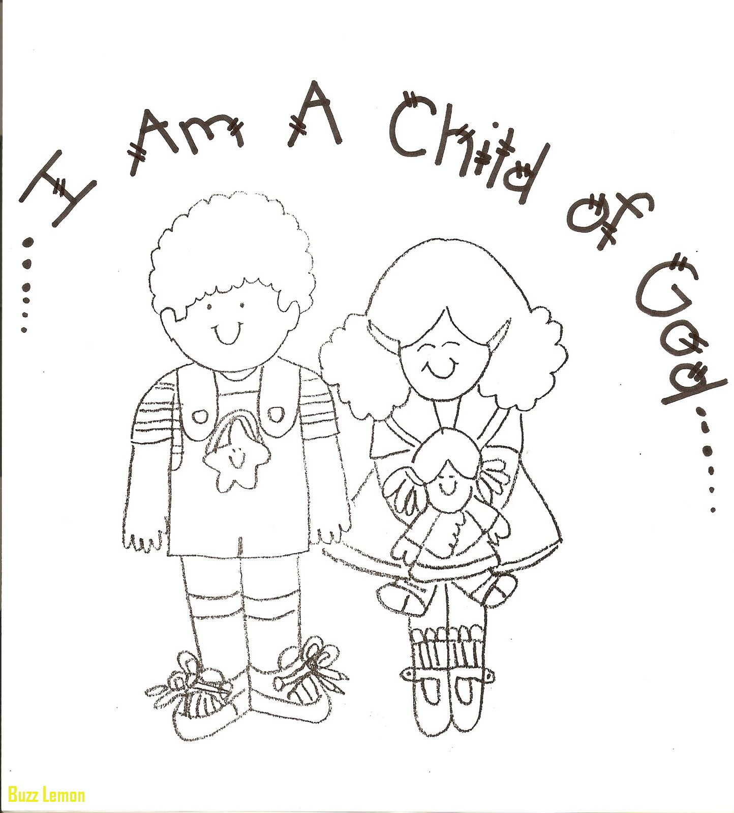 1444x1600 Coloring Page I Am A Child Of God New Great God Loves Me Coloring