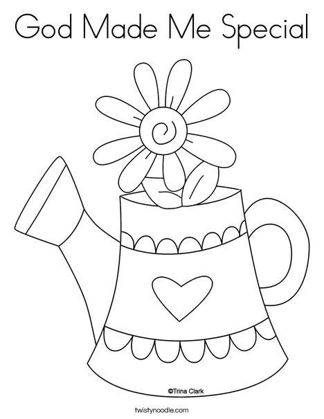 468x605 Beauteous God Made Me Special Coloring Pages I Am Ebcs
