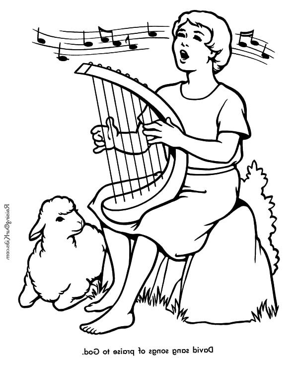 600x734 David The Shepherd Boy, David The Shepherd Boy Sing A Song