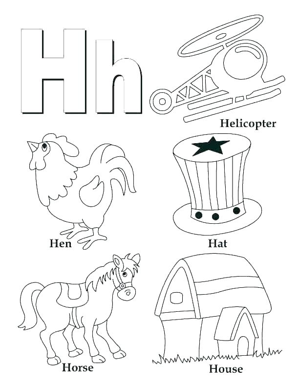 612x792 I Coloring Page Coloring