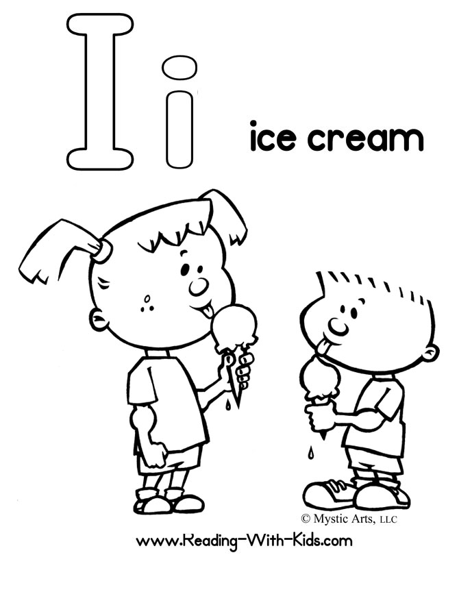 670x864 I Coloring Page Alphabet Coloring Pages Download