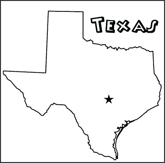 528x522 Texas Flag Coloring Page Flag Coloring Page Printable Outline