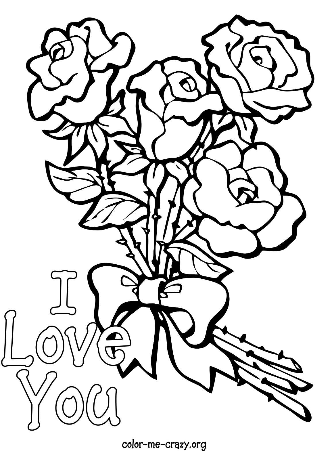 1162x1568 I Love You Coloring Page Free Printable Pages