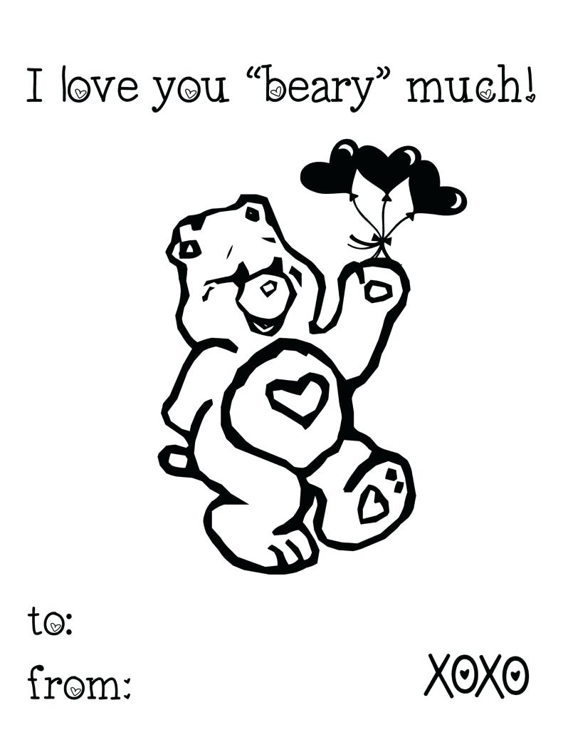 791x1024 Coloring Pages I Love You Coloring Pages Free Valentine For Kids