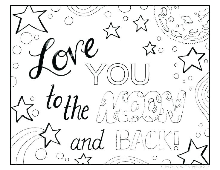 736x569 I Love You Coloring Pages To Print