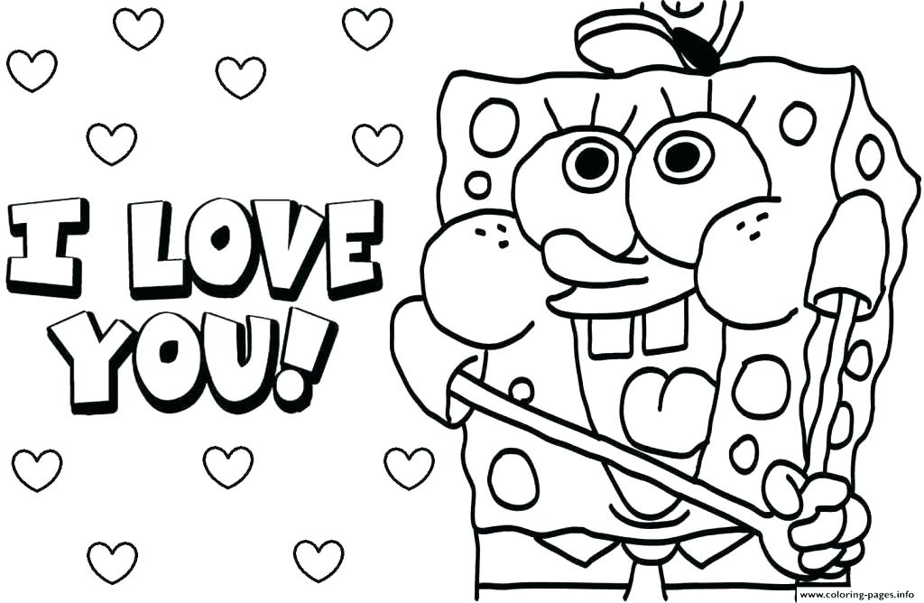 1024x668 Coloring Pages That Say I Love You Best Coloring Pages That Say