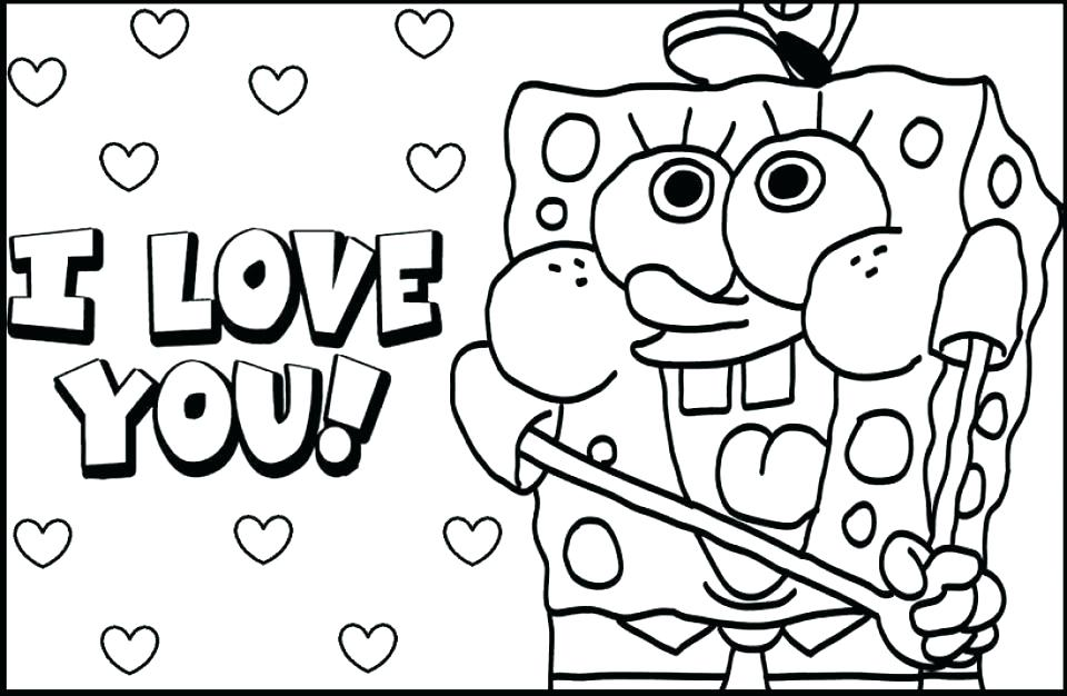 960x626 I Love You Coloring Pages Printable