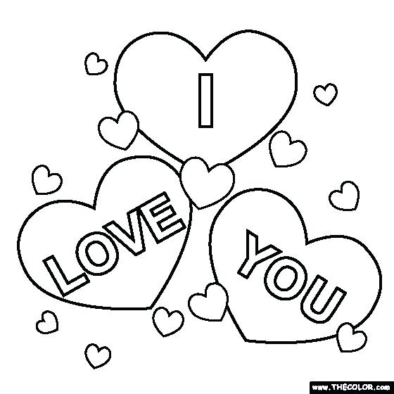 560x560 Coloring Pages For Love