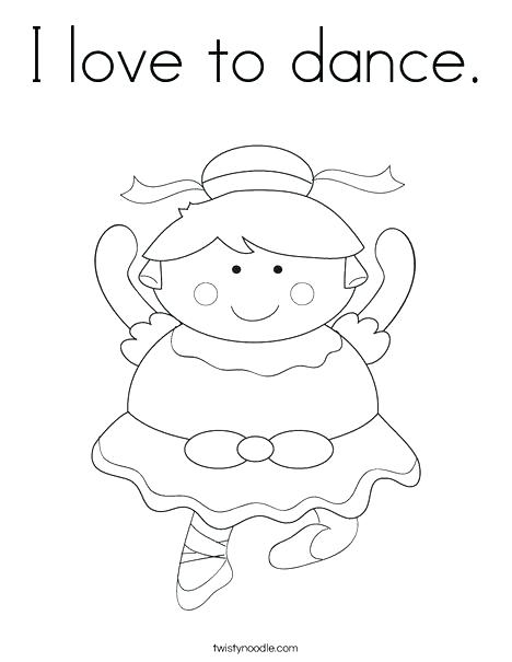 468x605 Dancing Coloring Pages Dance Color Pages Cartoon Ballerina