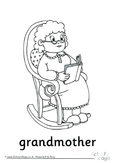 460x651 I Love Grandma Grandpa Coloring Page I Love Grandma