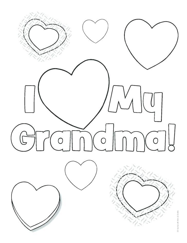 728x942 Top Rated Happy Birthday Grandma Coloring Page Images Grandma
