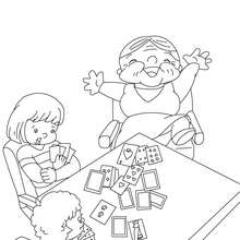 220x220 We Love You Grandma Coloring Pages