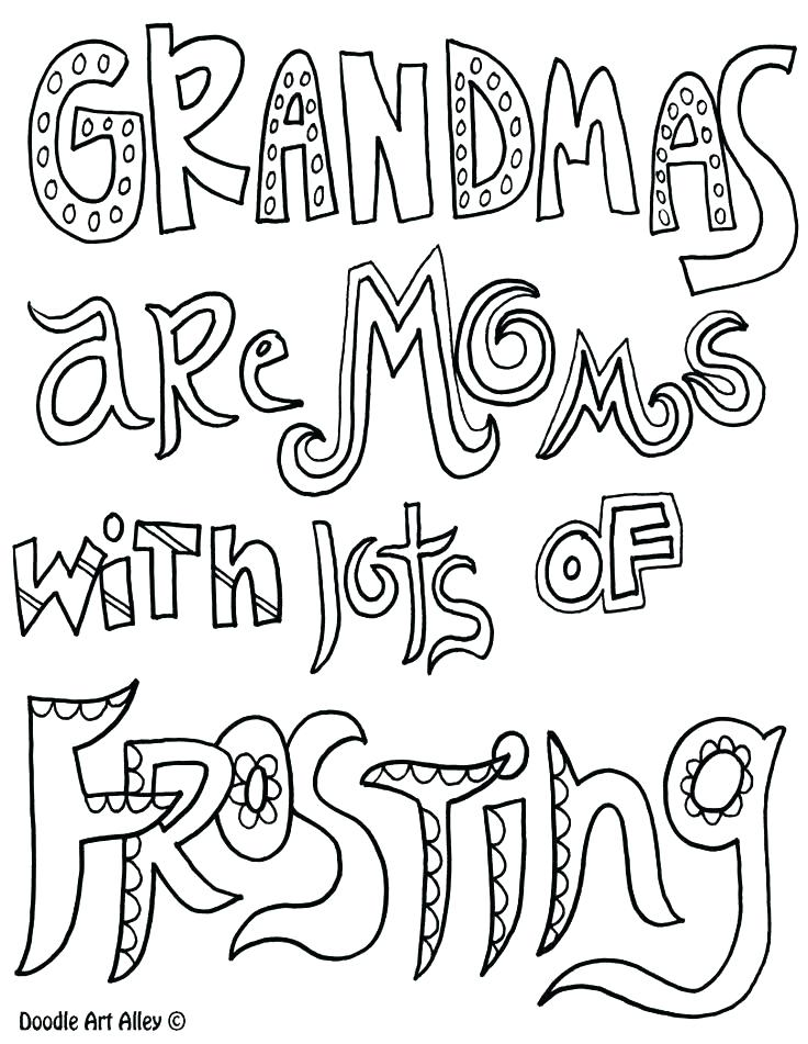 736x951 I Love You Grandma Coloring Pages