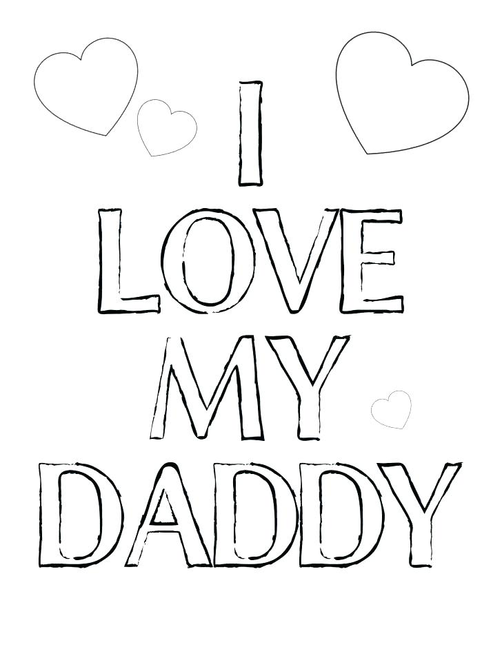 728x942 I Love My Mom Coloring Pages Dad Coloring Pages Dad Coloring Page