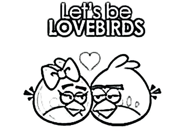 600x446 Angry Birds Falling In Love Coloring Pages Batch Coloring Angry