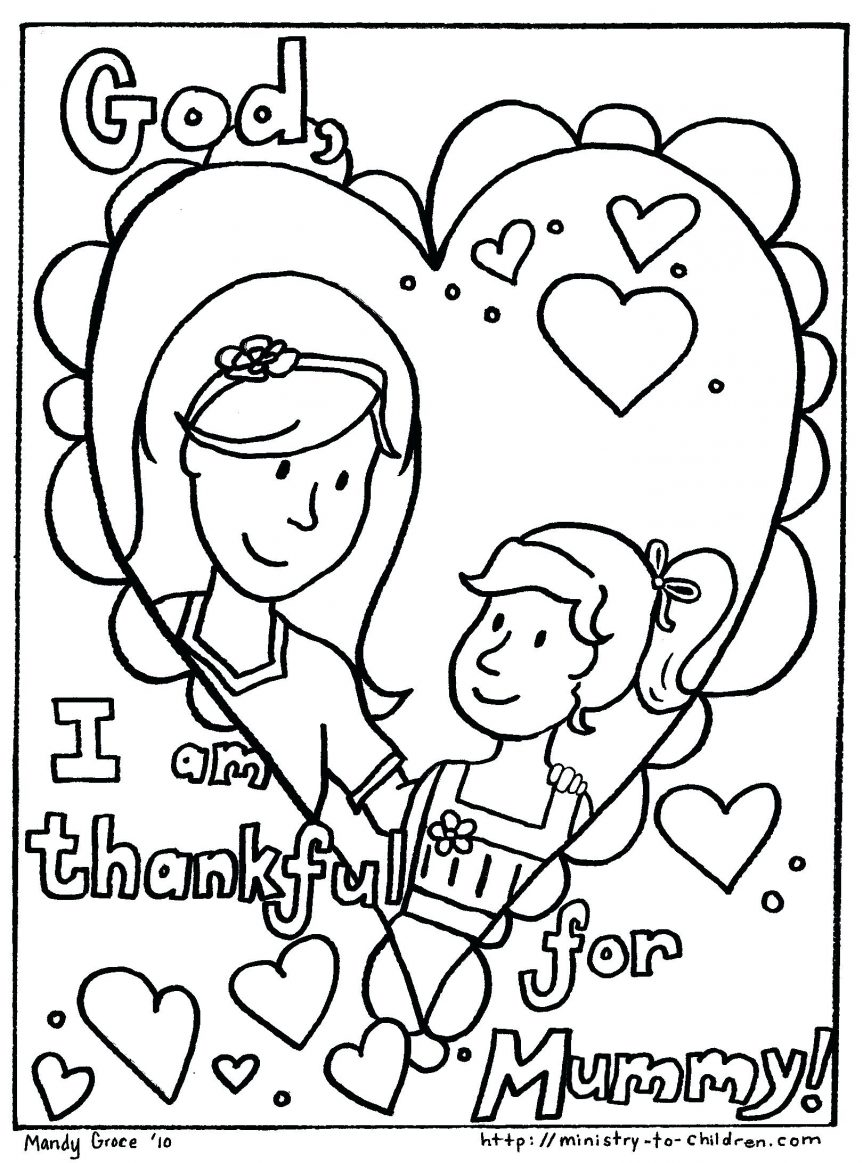 863x1163 Happy I Love My Mom Coloring Pages Best Ideas For You Page Kids