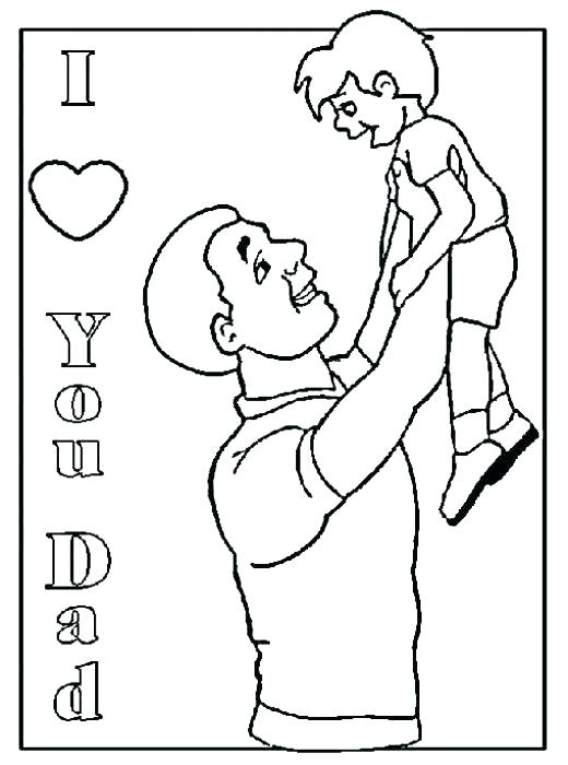 520x700 I Love My Daddy Coloring Pages I Love My Mom Coloring Pages I Love