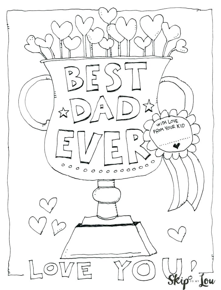 728x956 I Love My Daddy Coloring Pages Mom Colorng Valentne I Love Dad