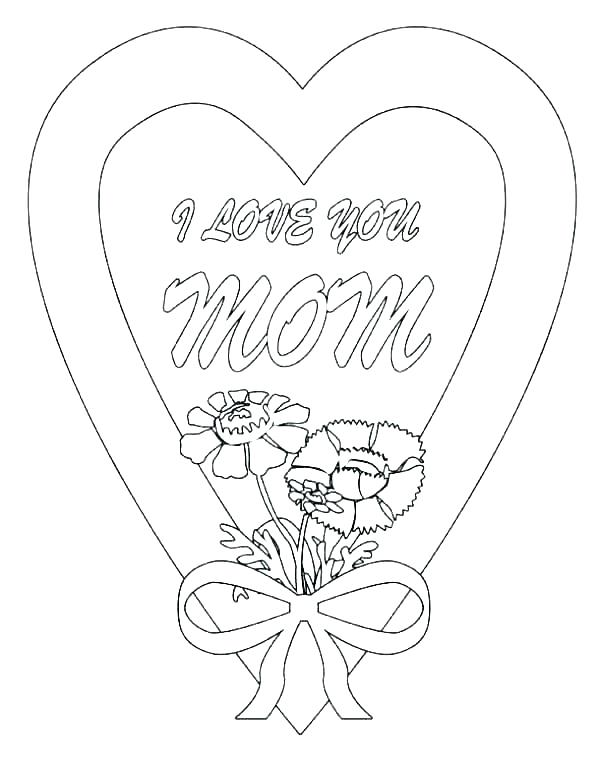 600x757 I Love My Mommy Coloring Pages I Love You Dad Coloring Pages I