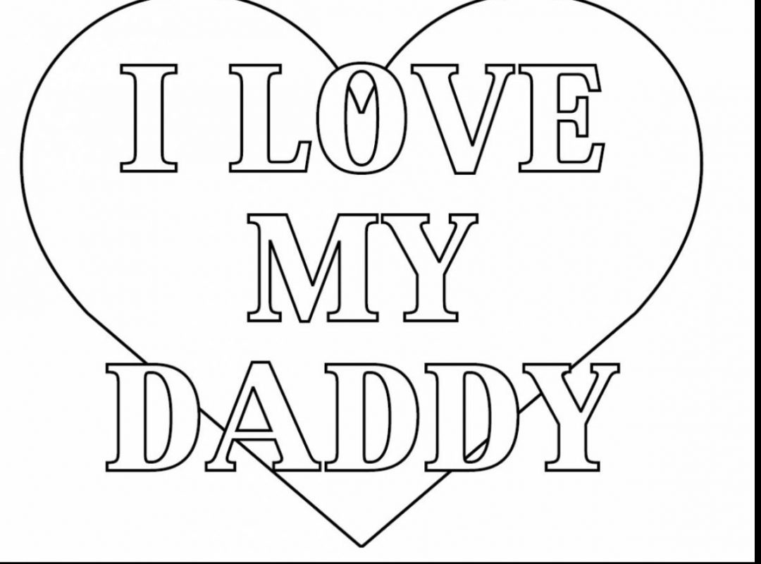 1080x800 I Love You Coloring Pages With Page Mom For Kids That Say And Dad