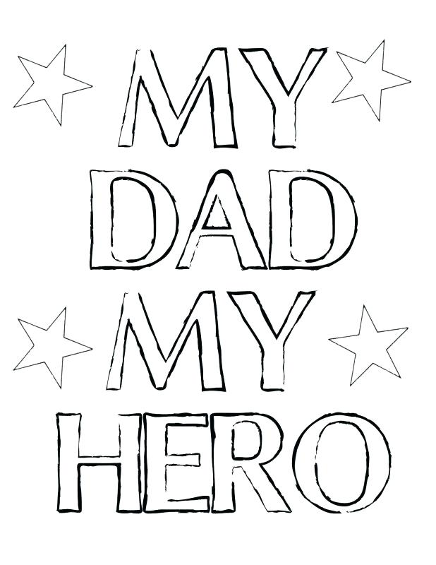 618x800 I Love You Dad Coloring Pages Dad Coloring Pages To Print Inside