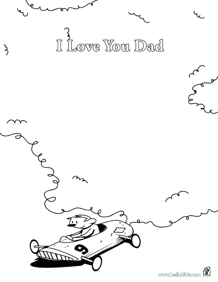 728x941 Dad Coloring Pages Mom And Dad Coloring Pages I Love You Daddy