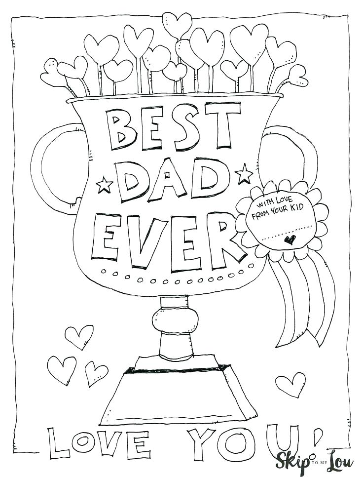736x966 I Love You Dad Coloring Pages I Love You Coloring Pages For Dads