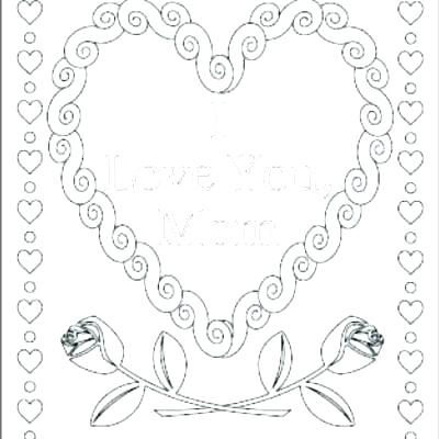 400x400 I Love My Daddy Coloring Pages